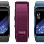 Lækket billede af Samsung Gear Fit 2