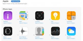 Screenshot fra Apple Apps i App Store (Kilde: The Verge)