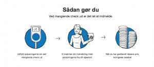 """Screenshots fra """"Check Udvej"""" (Foto: Rejsekortet.dk)"""