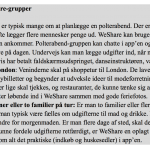 Sådan kan WeShare by MobilePay bruges (Kilde: Danske Bank)