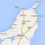 Kort Nordjylland