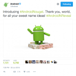 Android N navngives til Android Nougat (Kilde: Google Android)