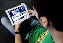 YouSee på iPad (Foto: Uffe Weng)