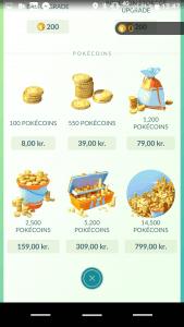 Penge i Pokémon Go (Foto: MereMobil.dk)