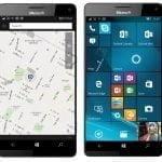 HERE Maps på Microsoft-telefon (Foto: HERE)