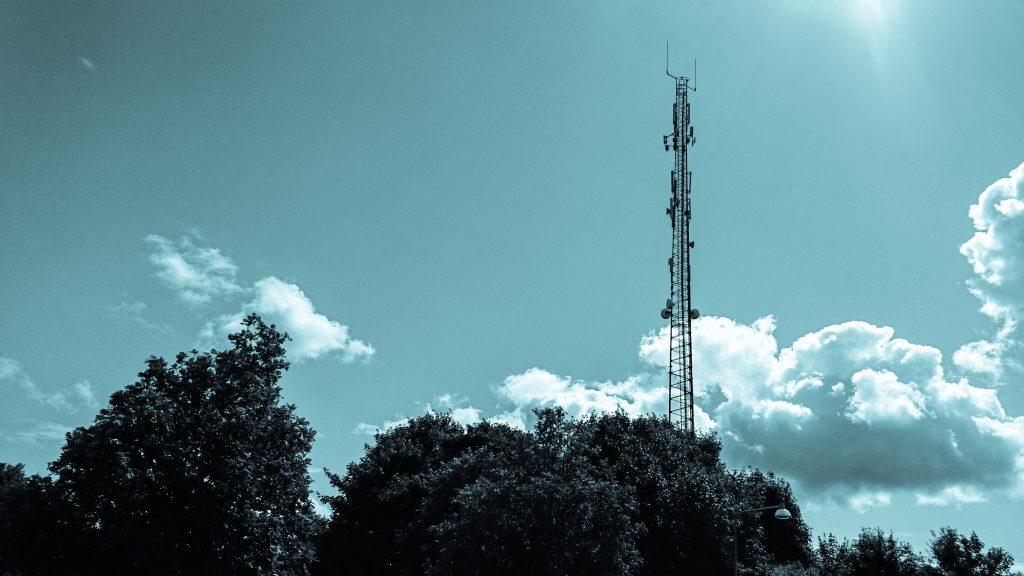 Mobilmast i Danmark (Foto: MereMobil.dk)