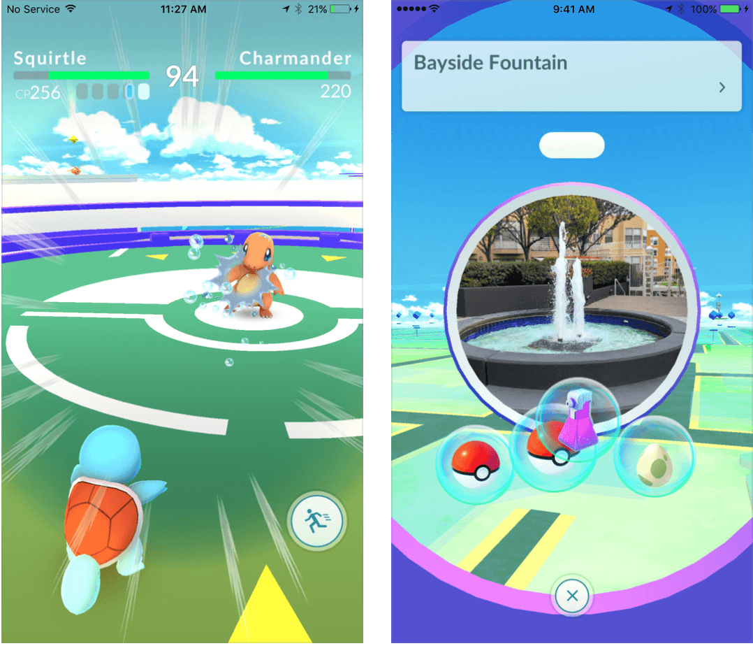 how to play pokemon go on an se iphone