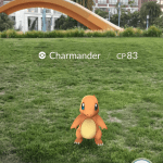 Screenshots fra spillet Pokémon Go