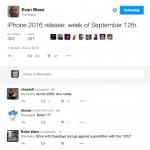 EvLeaks lækker datoen for kommende iPhone-event (Kilde: Twitter)