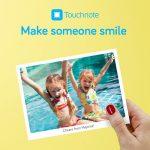 TouchNote applikationen