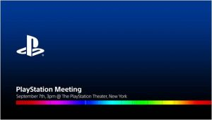 Invitation til PlayStation Meeting (Kilde: Sony)