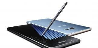 Samsung Galaxy Note 7 lækket af OnLeaks (Kilde: OnLeaks)