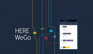 HERE WeGo screenshots