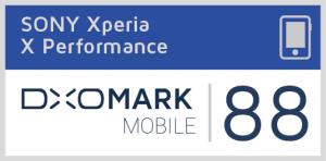 DxOMarks udmærkelse af Sony Xperia X Performance