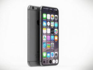 Apple iPhone 8 (2017) mockup (Kilde: AppleInsider.com)