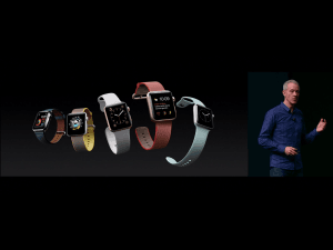 Apple præsenterer Apple Watch Series 2 (Foto: MereMobil.dk)