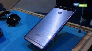 Huawei P9 i blå (Foto: MereMobil.dk)