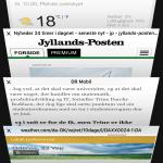 iOS 10 - faner i Safari browseren