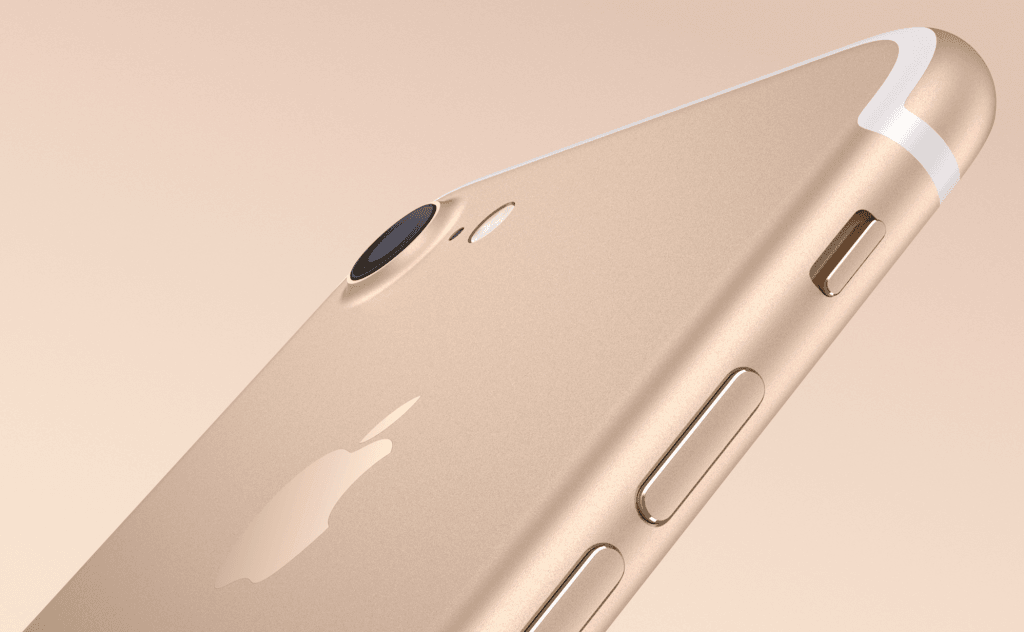 iPhone 7 i Guld (Foto: Apple)