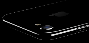 iPhone 7 i Jet Sort(Foto: Apple)