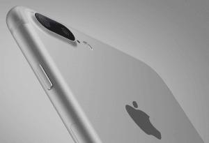iPhone 7 Plus i Sølv (Foto: Apple)