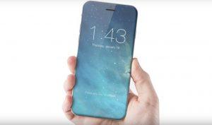 Kant-til-kant skærm og ingen hjemknap - koncepttegning af iPhone (Foto: ConceptsiPhone)