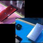 Huawei P9 i rød og blå (Foto: MereMobil.dk)