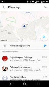 Send placering fra Facebook Messenger (Foto: MereMobil.dk)
