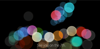 Apple event - onsdag den 7. september 2016 (Kilde: Apple)