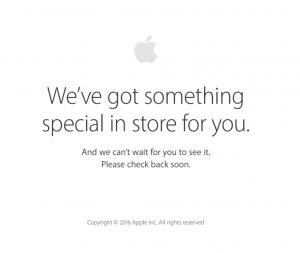 Apple Store nede den 7. september 2016 (Foto: MereMobil.dk)