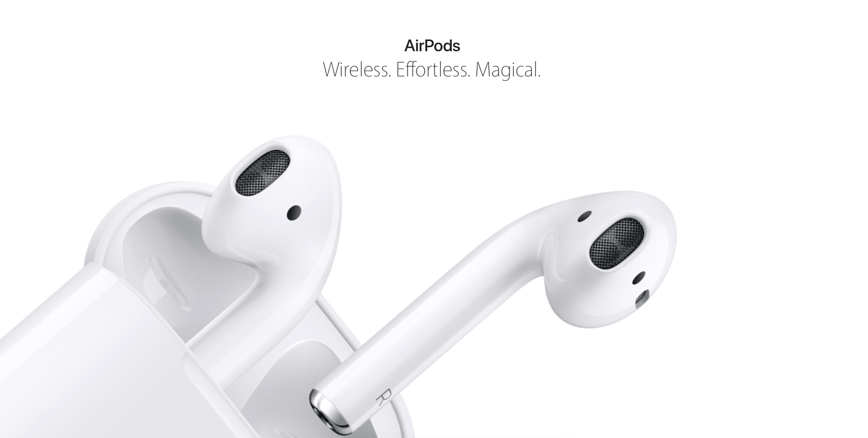 Topmoderne Apple AirPods – ny trådløs lyd fra Apple » MereMobil.dk UV-95