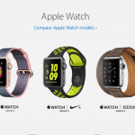 Apple's line-up af Apple Watch produkter (Foto: Apple)