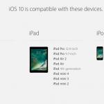 Disse enheder får iOS 10 (Foto: Apple)