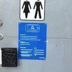 Toilet med SMS-lås (Foto: Vordingborg kommune)