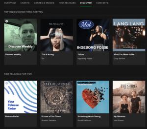 Discover ny musik på Spotify (Foto: MereMobil.dk)