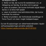 Nyheder i WatchOS 3.1 (Foto: MereMobil.dk)