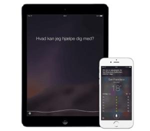 Siri på iPad og iPhone (Foto: Apple)