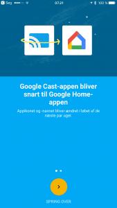 Google Cast hedder nu Google Home (Foto: MereMobil.dk)