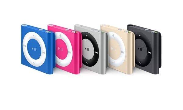 iPod Shuffle (4. generation) - 2010