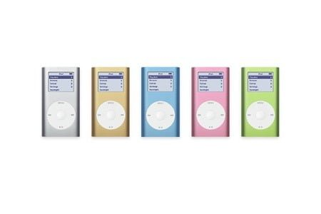 Apple lancerede iPod Mini i 2004