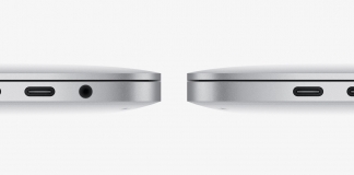 Thunderbolt 3 porte på Macbook Pro (Foto: Apple)