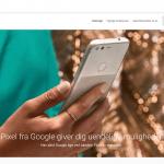 Google Pixel i Google Store (Foto: MereMobil.dk)