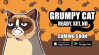 Grumpy Cat er blevet en verdensstjerne på internettet og nu får katten også sit eget mobilspil.