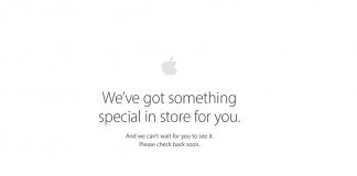Apple Store klargøres til nyt lineup