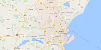 Arrhus fra Google Maps (Kilde: Google Maps)