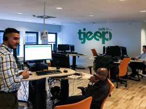 Kundeservice hos Tjeep i København (Foto: MereMobil.dk)