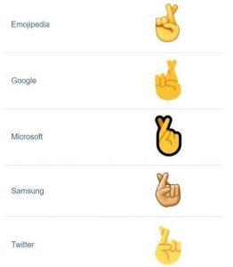 Forskellen på emojis på tværs af medier og brands (Foto: MetroXpress)
