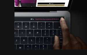 Touch ID på Macbook Pro (Foto: Apple)