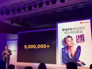 Huawei P9 nu solgt i mere end 9 millioner eksemplarer (Kilde: GSMArena.com)
