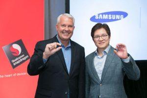 Snapdragon 835 er præsenteret og fremvist af Keith Kressin (Qualcomm) og Ben Suh (Samsung) (Foto: Qualcomm)